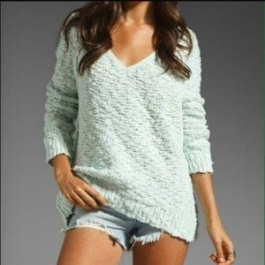 FREE PEOPLE Songbird Nubby Boho Pullover Sweater S